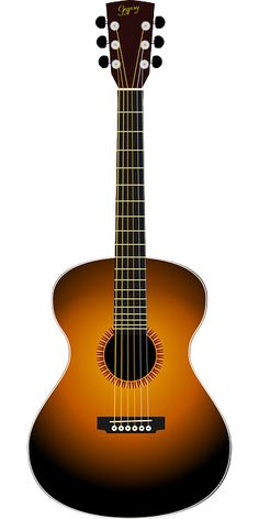 Guitar clipart string instrument. Free image on pixabay