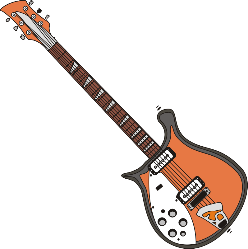 Guitar clipart string instrument. Free electric clip art