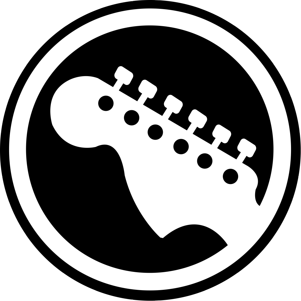 Guitar clipart symbol. Free icon download electricguitar