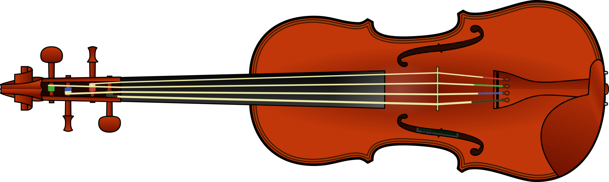 Guitar clipart violin. Musical instruments fiddle string