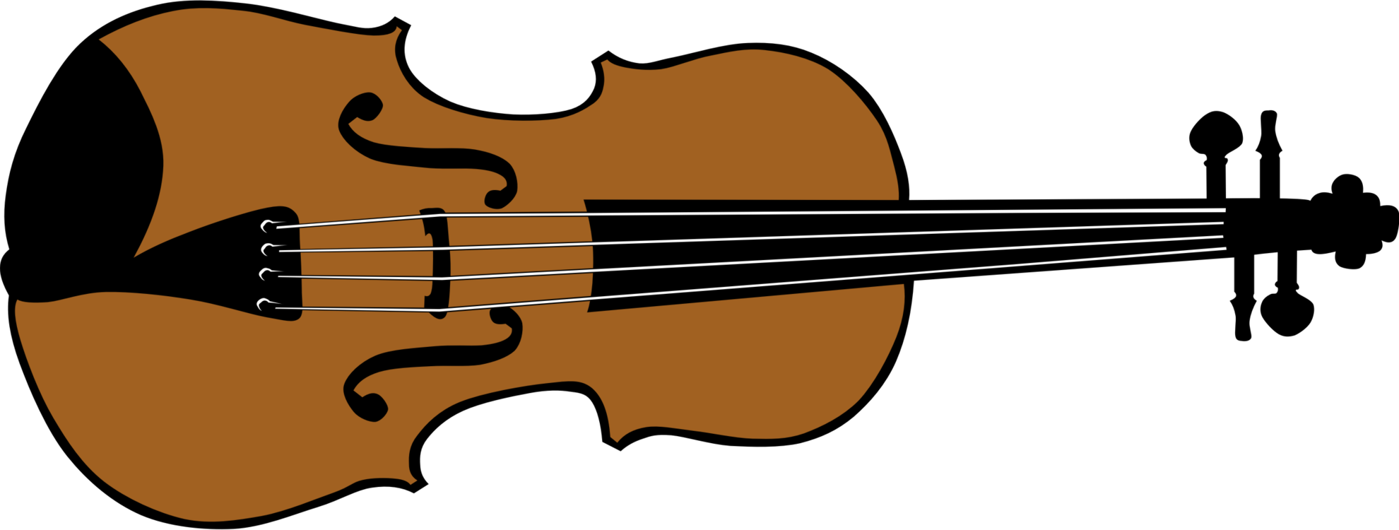 Guitar clipart violin. Music fiddle art bow