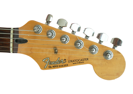 Guitar headstock png. Roland ready strat but