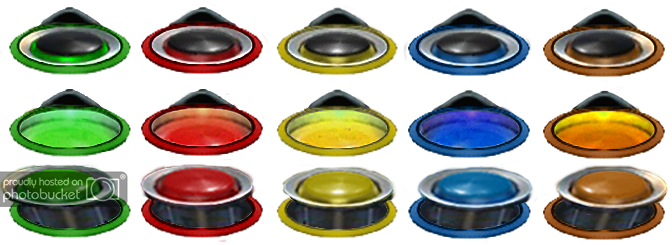 Guitar hero buttons png. World tour theme updated