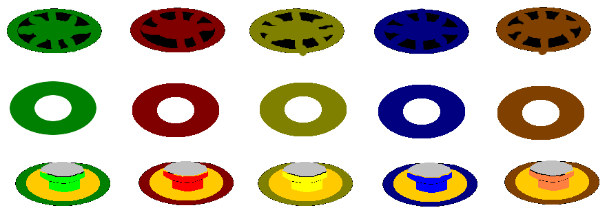 guitar hero buttons png