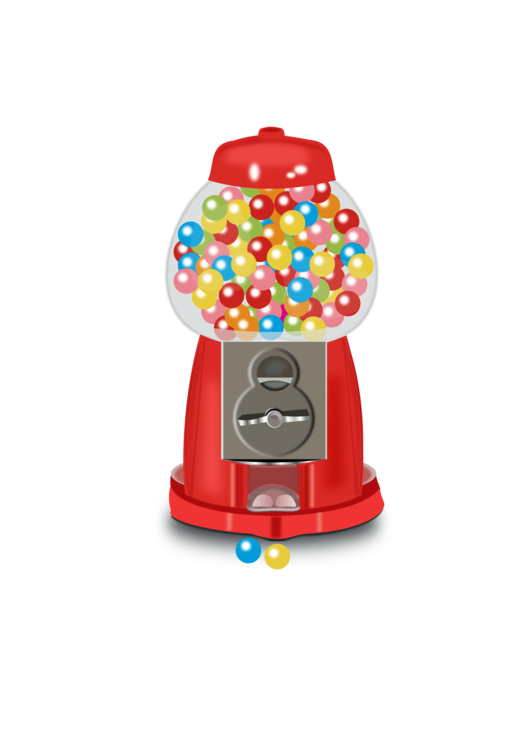 Gumball machine clipart. Chewing gum bubble the