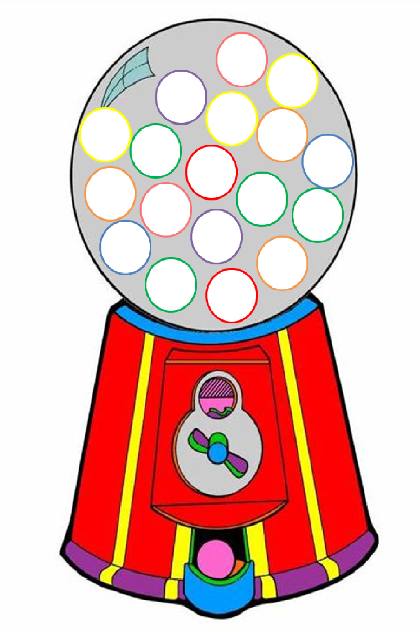 Gumball machine clipart. Free cliparts download clip