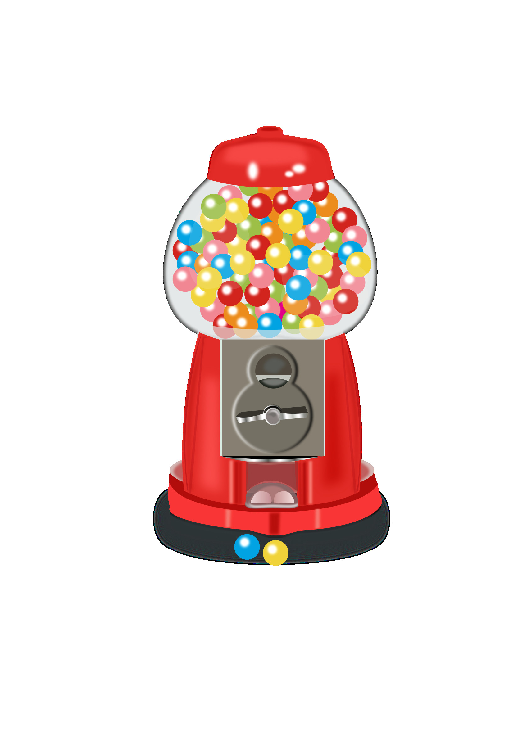 Gumball machine clipart bubble gum. At reactiongif me ball