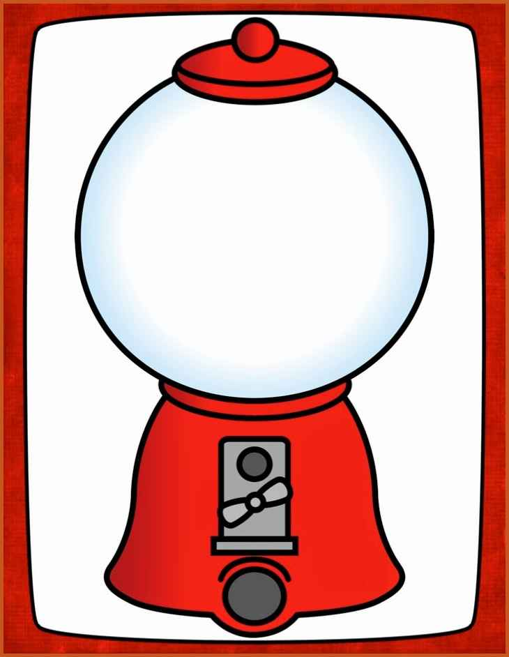 Gumball machine clipart bubble gum. Template sop example gumballmachinetemplatefaaaffaacfaeaddpicturesof