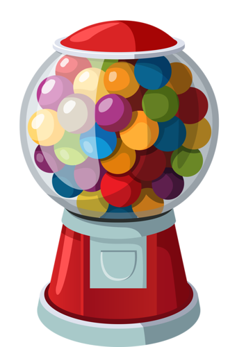 gumball machine clipart gum ball machine