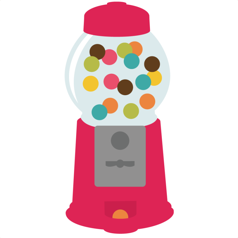 Gumball machine clipart transparent. Free png images svg