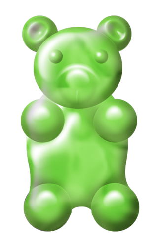 Gummy clipart green bear. At getdrawings com free