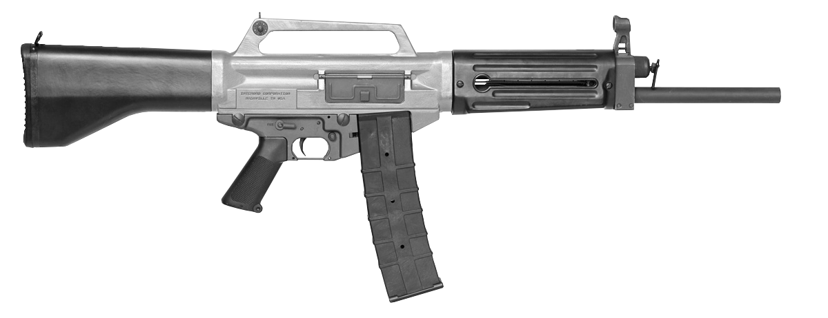 Transparent rifle. Image usas png gun
