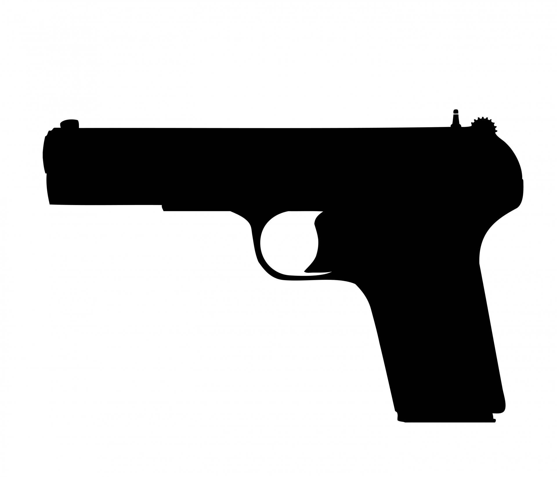 Guns clipart. Gun pistol free stock