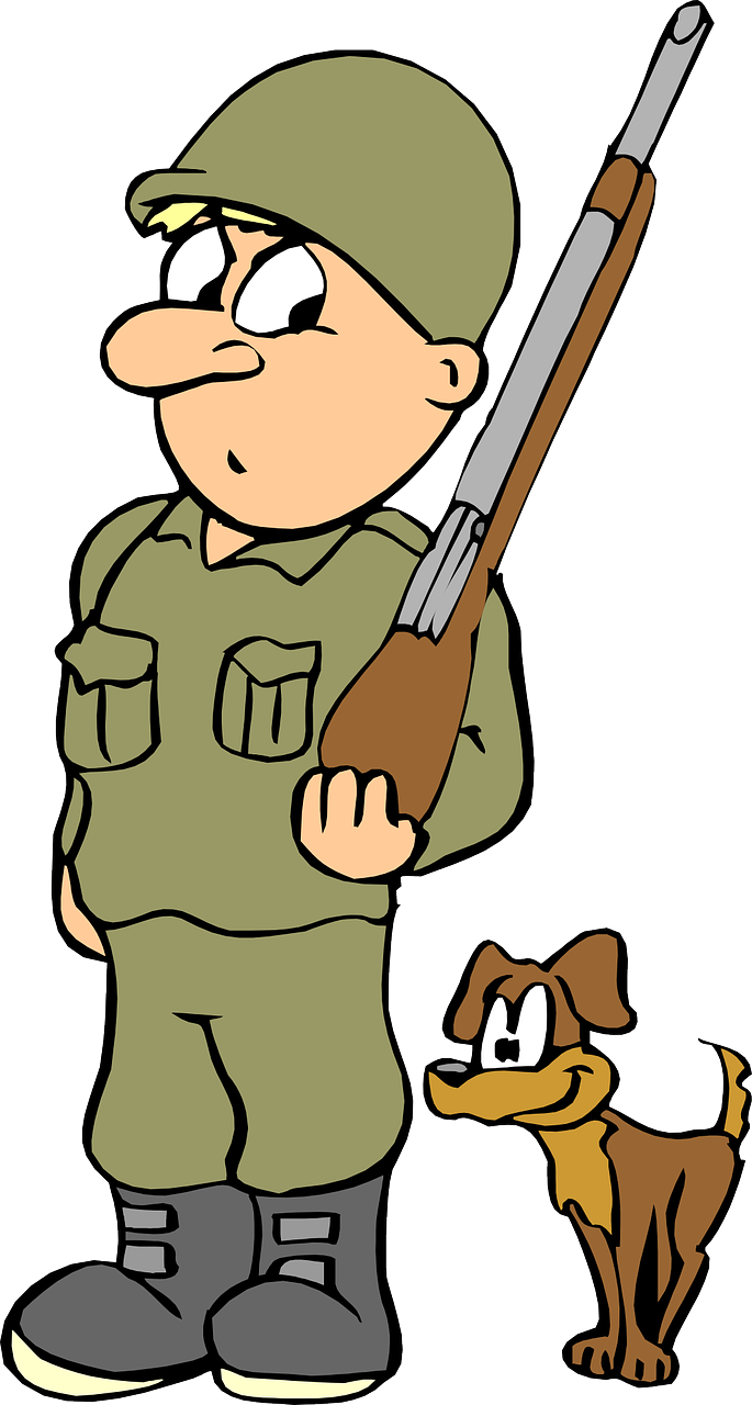 Guns clipart boy. Military free to use