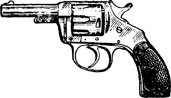 Guns clipart pistol. Handgun free on dumielauxepices