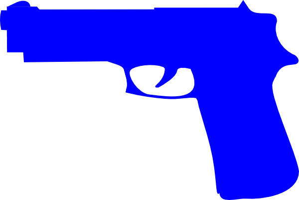 Guns clipart pistol. Gun free download best