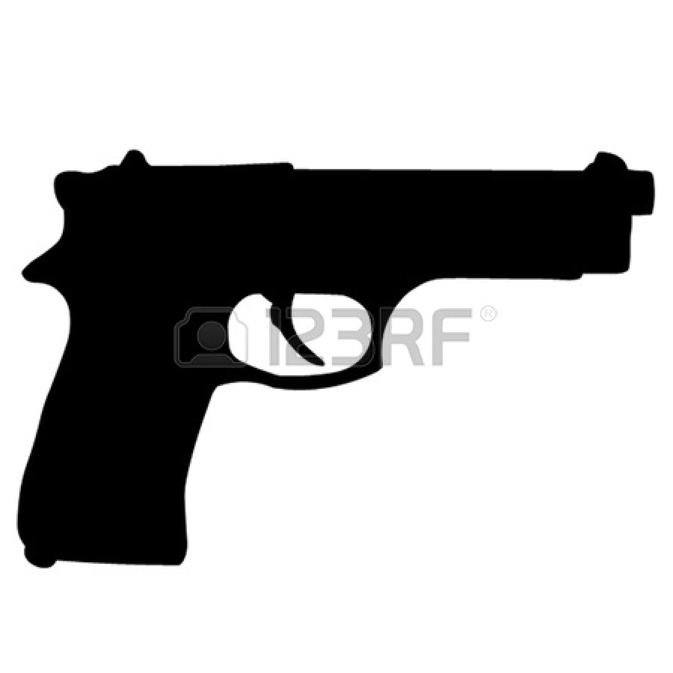 Guns clipart pistol. Best of gun design