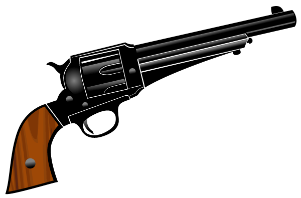 Guns clipart pistol. Download gun vector by