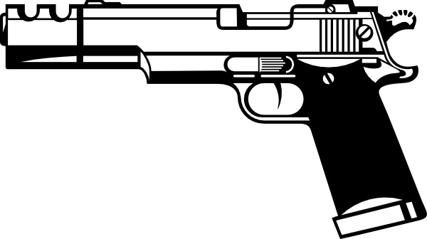 guns clipart svg