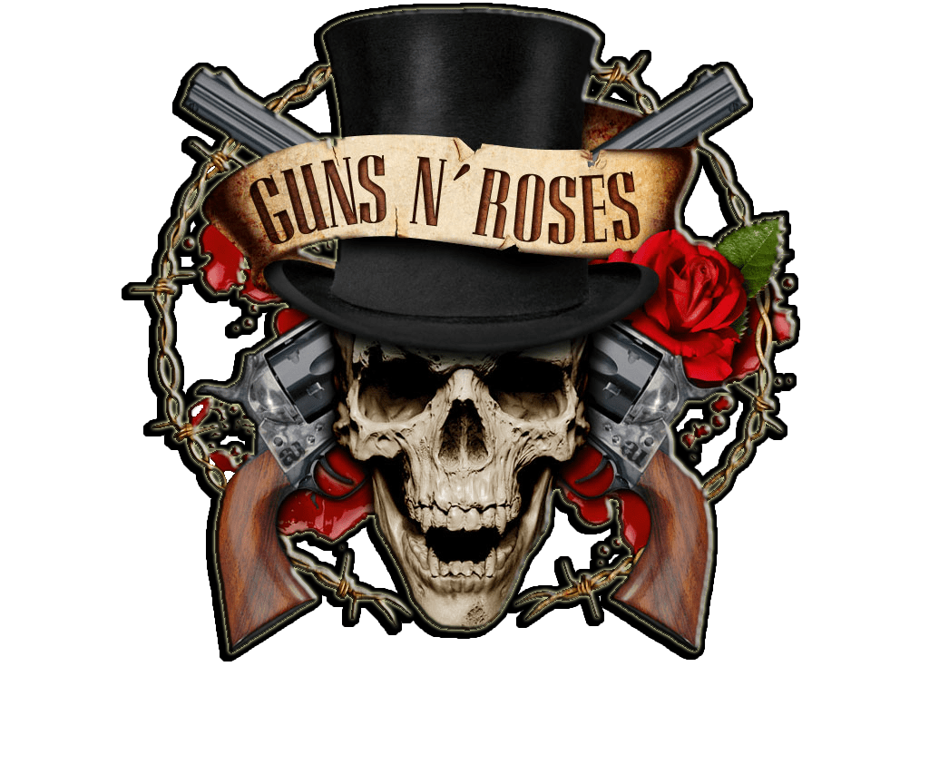 skull and roses png