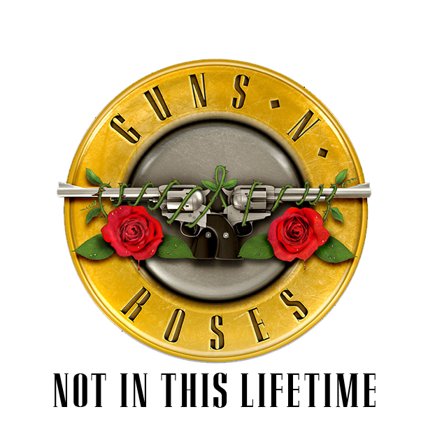 Guns n roses logo png. Not in this lifetime