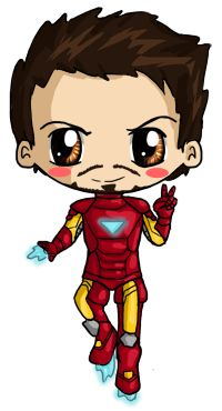 Guy clipart chibi. Man of steel at