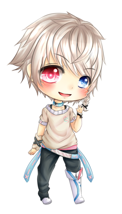 Guy clipart chibi. Comm e ch by