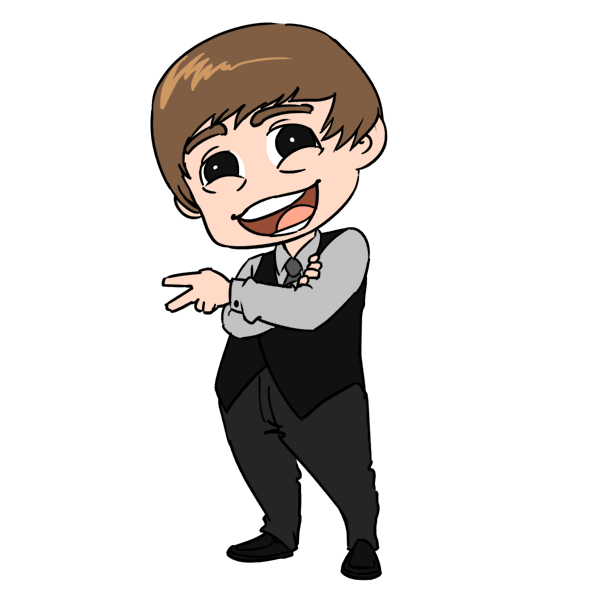 Guy clipart chibi. Forgetful old man justin