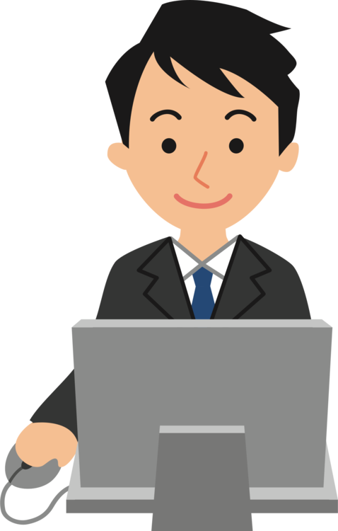 Guy clipart computer user. Laptop keyboard personal mouse