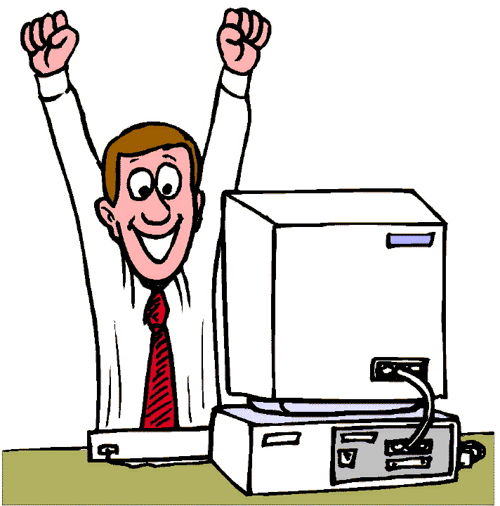 Guy clipart computer user. Happy panda free images