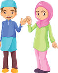 Guy clipart malay. Muslim panda free images