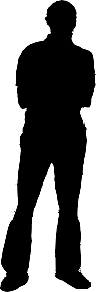 Guy clipart silhouette. Man panda free images