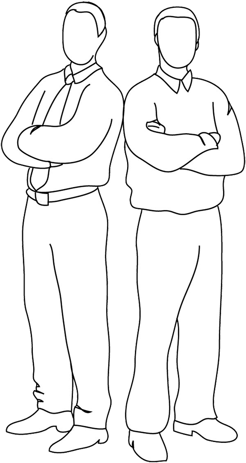 Drawing Guys Sketch Transparent Clipart Free Download