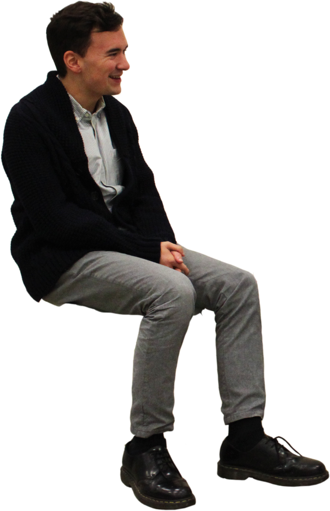 Guy on floor png. Sitting man images free