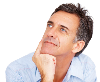 Thinking guy png. Image