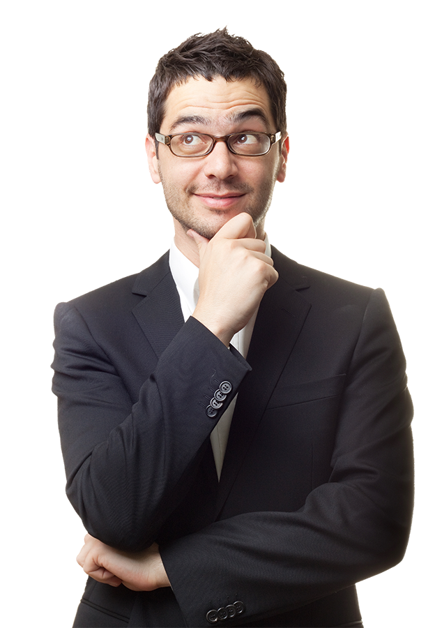 businessman looking right png