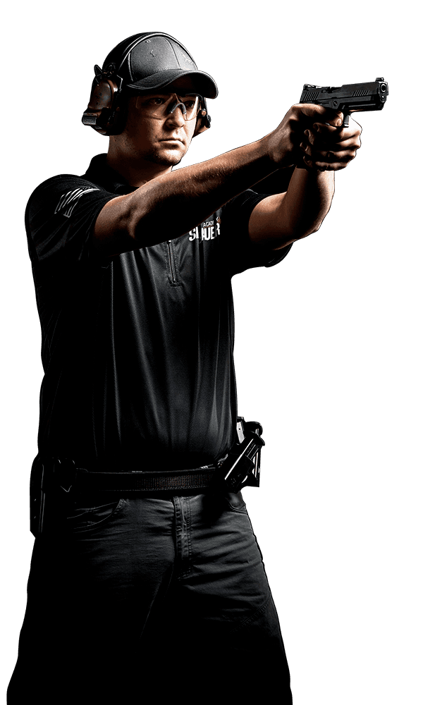 Guy with gun png. Military sig sauer competition