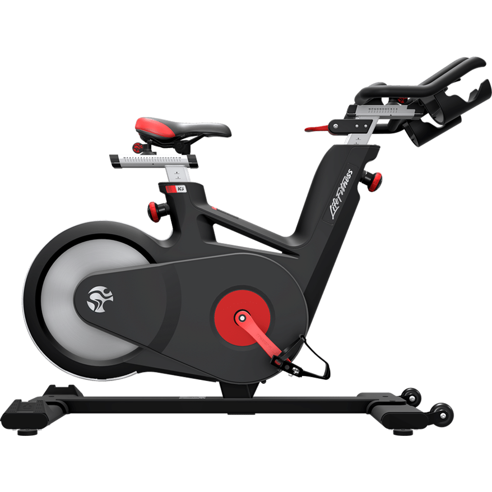 Gym clipart cycling machine. Life fitness ic indoor