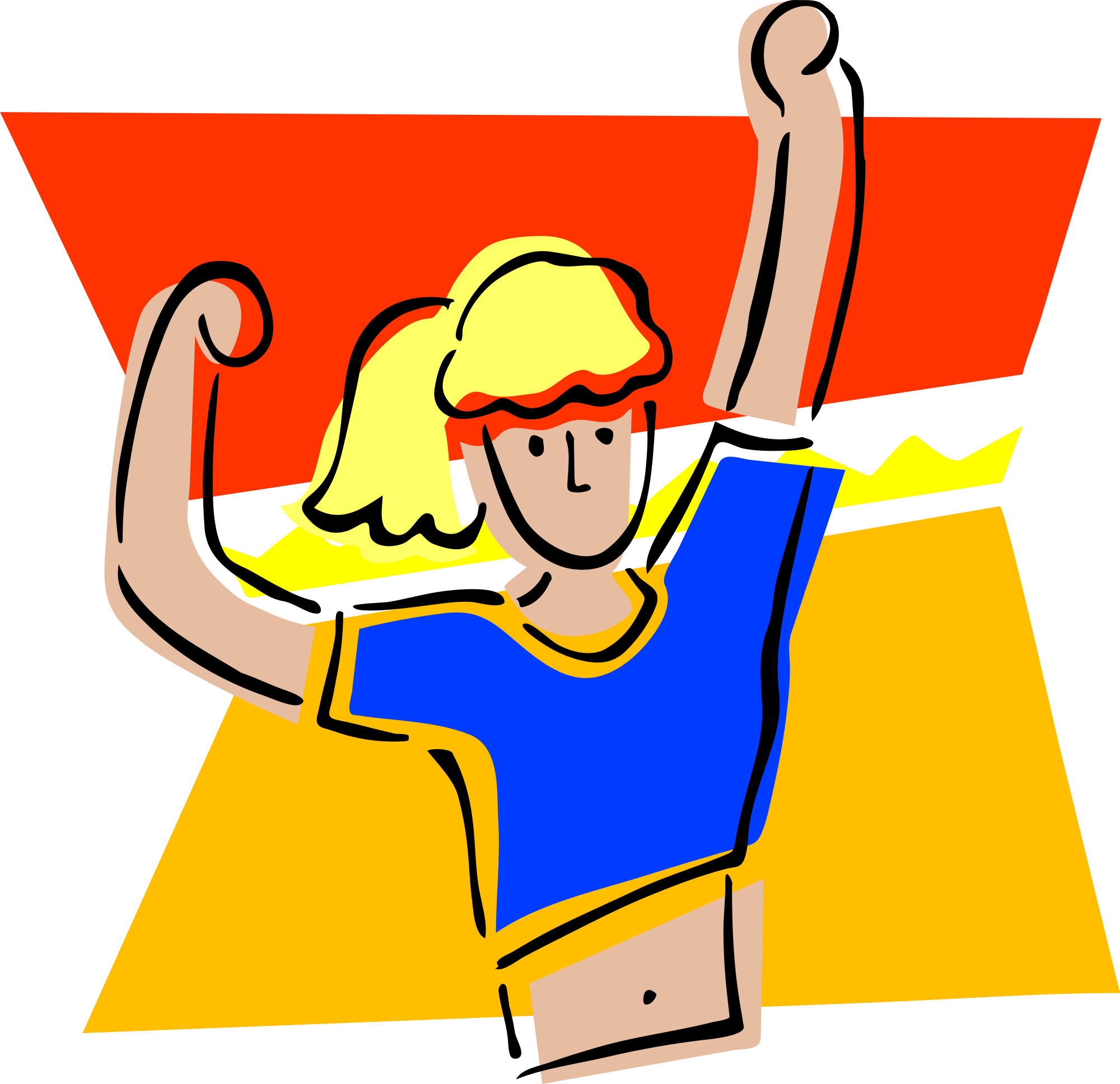 Gym clipart strong boy. Physical fitness group with