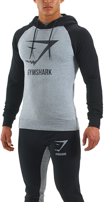 Gym clothes png. Gymshark thermolite pullover grey