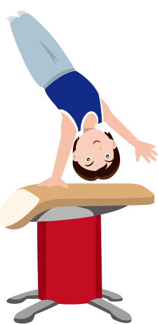 Gymnast clipart air. Free male cliparts download