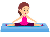 Gymnast clipart. Sports free gymnastics to