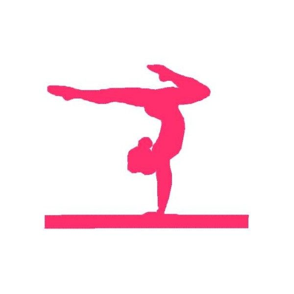 Gymnastics clipart gymnastics medal. Gymnast silhouette at getdrawings