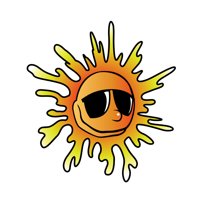 Heat clipart. Free summer reading download