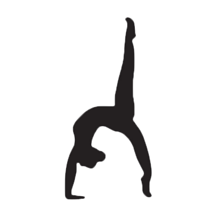 Gymnast vector. Gymnastics cartoon clip art