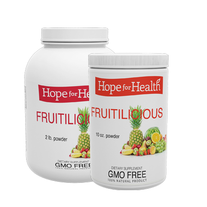 H transparent fruit. Fruitilicious powder hope international