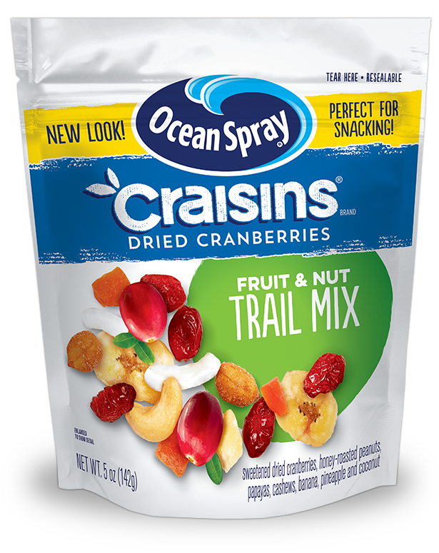 H transparent fruit. Craisins dried cranberries trail
