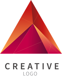 Vector abstracts creative. Abstract shape logo eps