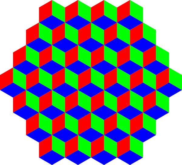 H vector hexagon. D clip art
