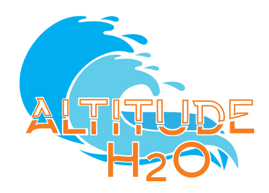 H2o drawing aqua. Altitude h o frequently